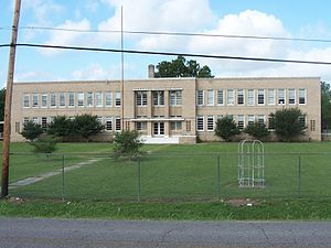 Morganza, Louisiana - Old Morganza High School