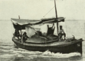 Motor Launch on River Tigris (WWI).png