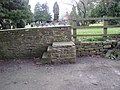 Mounting block near the church at Stokesey - geograph.org.uk - 1581788.jpg