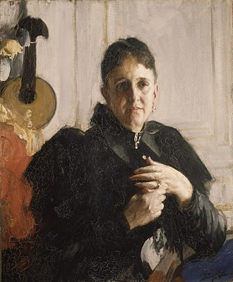 Mary Elizabeth Adams Brown - Portrait by Anders Zorn
