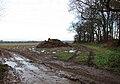 Muck heap in field - geograph.org.uk - 1077691.jpg