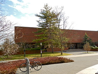 Seeley G. Mudd Manuscript Library - A view of the library from the north