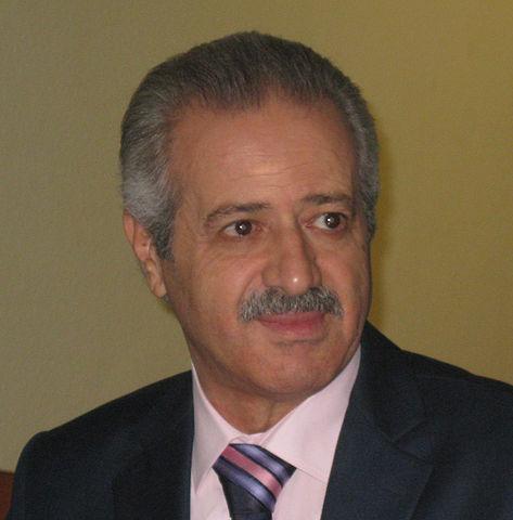 Syrian cosmonaut Muhammed Ahmed Faris, photo by user Leuband at German Wikipedia (9 November 2012)Source: Wikipedia 473px-Muhammed_Ahmed_Faris.jpg