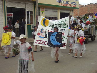 Indigenous peoples in Colombia - Muisca people in Bogota, 2008