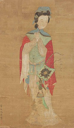 Mulan, 18th century, ink and colors on silk.jpg