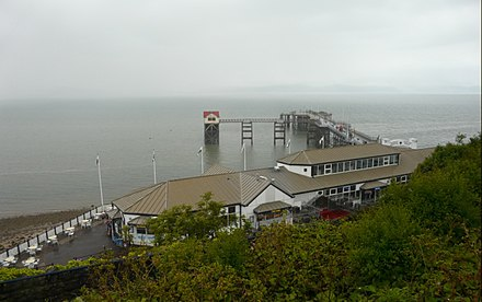 Mumbles Pier Mumbles Pier and Lifeboat Station - geograph.org.uk - 868363.jpg