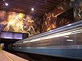 Mural de Toral en metro estacion Universidad de Chile.jpg