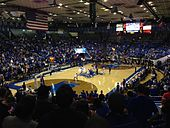 Murphy Center during a basketball game on March 1, 2014