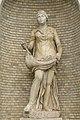 Musei Vaticani Cortile della Pinacoteca statua fontana Roma.jpg