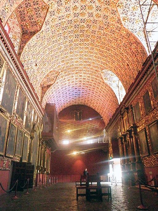 Museo de Santa Clara. Nave central.