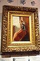 Museum Hindeloopen - Breiend Hindelooper meisje geschilderd door Christoffel Bisschop (1828-1904).jpg
