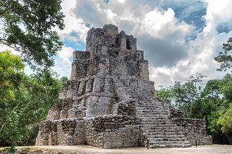 Muyil - Ruins of a pyramid