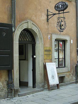 Museum of Warsaw - Image: Muzeum farmacji w Warszawie 20080803 01