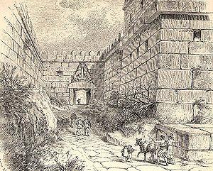 Lion Gate - Reconstruction of the Lion Gate.