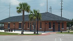 Myrtle Beach Atlantic Coast Line Railroad Station Jun 10.JPG
