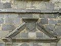 Nérac Puy-Fort-Éguille église portail nord fronton.JPG