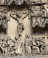 Nürnberg Lorenzkirche - Westportal 3c Kreuzigung.jpg