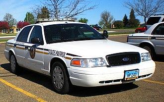 North Dakota Highway Patrol - Image: NDHP Crown Victoria