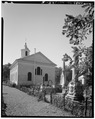 NORTH (REAR) ELEVATION - Edisto Island Presbyterian Church, Edisto Island, Charleston County, SC HABS SC,10-EDIL,3-5.tif