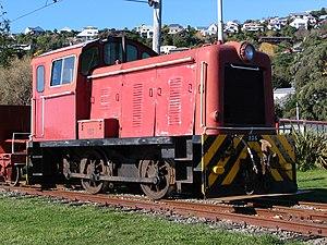 New Zealand TR class locomotive - Bagnall built TR156 at Ferrymenad