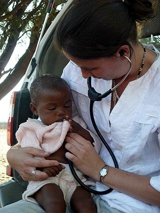 N/a'an ku sê Wildlife Sanctuary - Image: Naankuse Lifeline Clinic Doctor