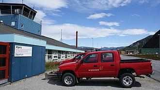 Narsarsuaq Airport - Terminal at Narsarsuaq Airport