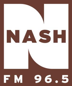 WJCL-FM - Image: Nash FM 96.5 2013 logo