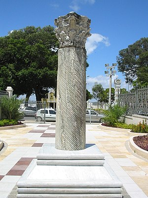 Rio Grande do Norte - Column Capitolina was donated to the state by Mussolini.
