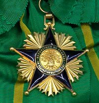 National Order of Merit grand cross badge (Senegal) - Tallinn Museum of Orders.jpg
