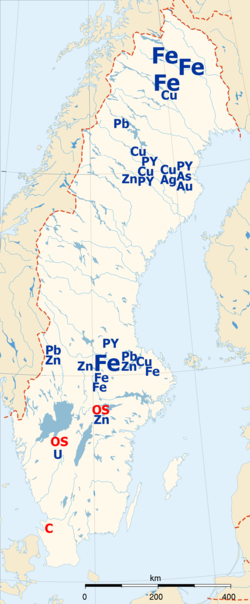 8205ad5948b93 Natural resources of Sweden. Fe —  . https   en.wikipedia.org wiki Iron ore  iron ore