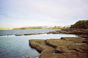 Bundoran - The natural swimming pool.