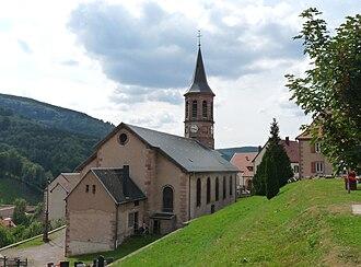 Natzwiller - Image: Natzwiller Eglise (1)