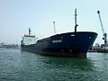 Navire BRENS en maneuvre au port de Casablanca.jpg