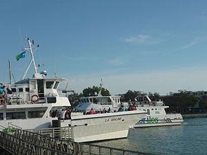 Navires de croisière à LR.JPG