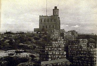 Al-Nabi Yusha' - Nebi Yusha police fortress, 1948