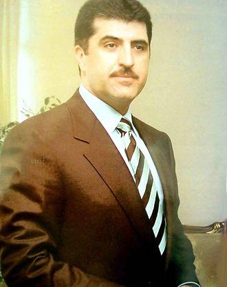 2005 Iraqi Kurdistan parliamentary election - Image: Nechervan Idris Barzani