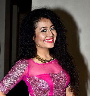 Neha Kakkar Indian singer