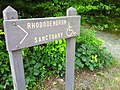 Nehantic Trail - Rhododentron Sanctuary Trail entrance sign.jpg