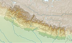 Manaslu is located in Nepal