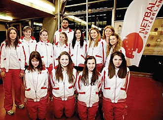 Netball Switzerland - Image: Netball Switzerland U17 2012