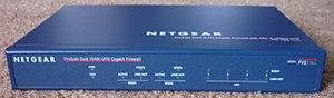 Netgear - Dual WAN Gigabit VPN Firewall FVS336G