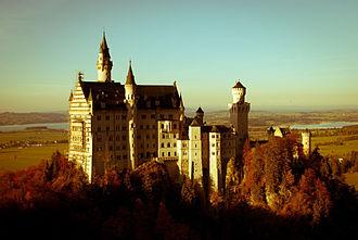 Swabia (Bavaria) - Neuschwanstein Castle, Schwangau