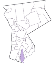 Location within Westchester County