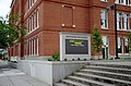 New Seasons Market offices sign at ex-Washington High School (2015).jpg