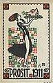 New Years Card- Cheers 1911 (Prosit) MET DP844707.jpg