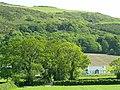 New bungalow at Ballaneddin Farm, and Cashtal Lajer ringfort. - geograph.org.uk - 56833.jpg