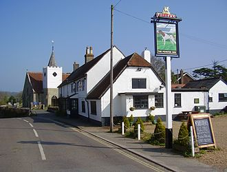 Newchurch, Isle of Wight - Image: Newchurch, IW, UK