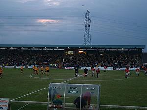 Newport County A.F.C. - Newport Stadium