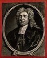 Nicholas Sanderson. Mezzotint after Sir G. Kneller, 1702. Wellcome V0006785ER.jpg