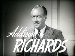 Addison Richards 1939.